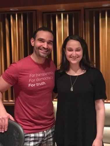 Elizabeth and Javier Muñoz for Anyway