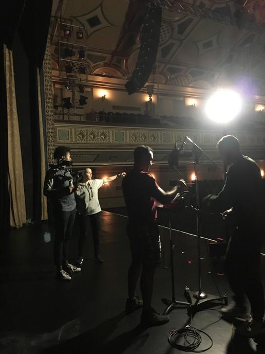 On Set: Anyway