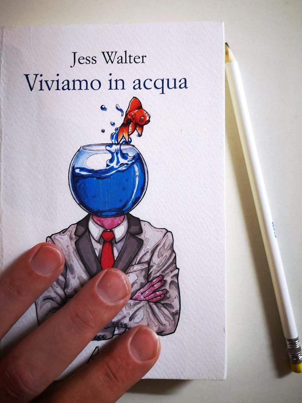 Libro, recensione, Viviamo in acqua, Racconti