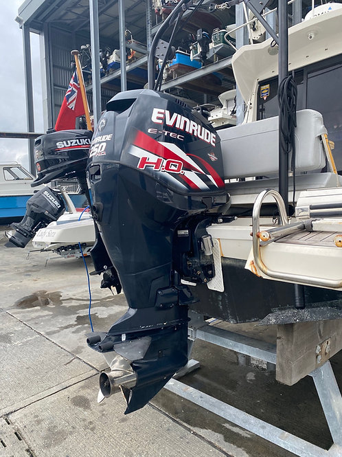 Evinrude ETEC250 ho used outboard 2013 -NOW SOLD