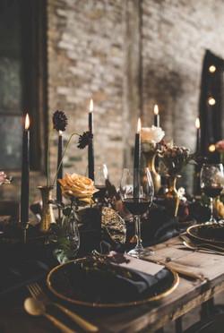 Gothic Renaissance Wedding Unique