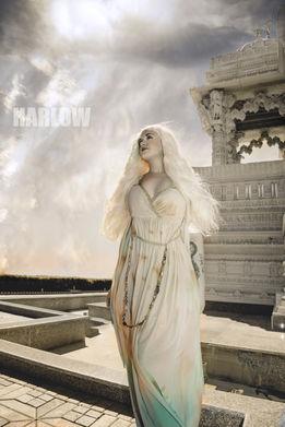 Dragon Queen PAgan Goddess Wiccan Inspiration Khalessi Daenerys