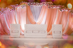 Peach Dream Wedding floral Chicago