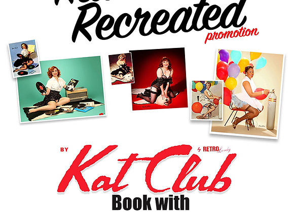 Kat Club Cover Shoot