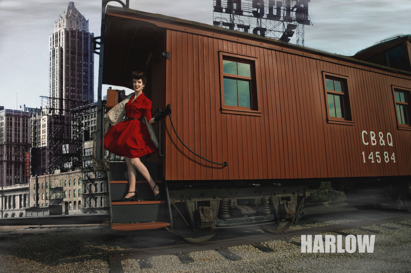 Chicago Pinup photographer HARLOW