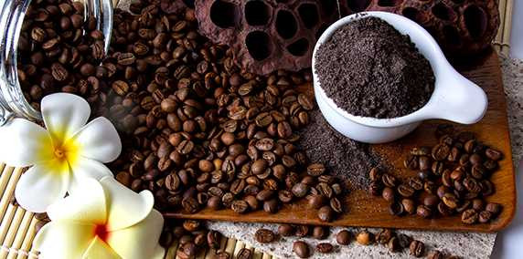 Natural Skincare fairtrade cofee cellulite reducer