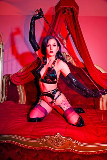 Sally Marvel Latex Model