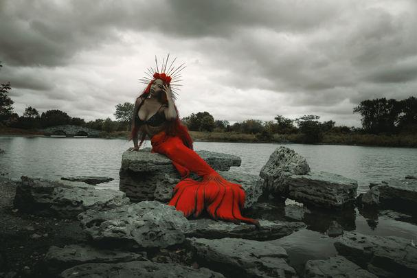 mermaid Harlow House Photo Fantasy Photography
