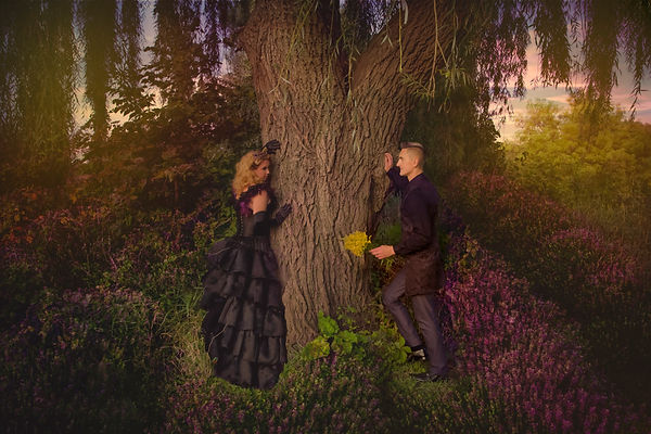 Chicago's Fantasy Fine Art Engagement Photographer HARLOW