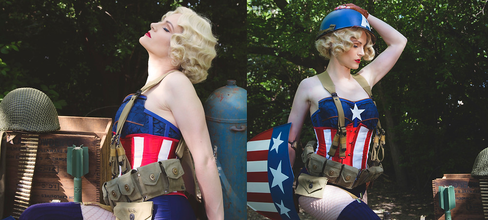 #marvelbabes #pinup #cosplaysexy #cosplaypinup #captainamerica marvel cosplay