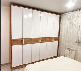 Шкаф в спальню на заказ во Владимире и М