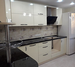Белая угловая кухня под заказ недорого