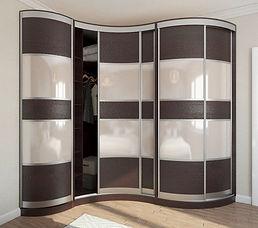 шкаф радиусный на заказ в Москве
