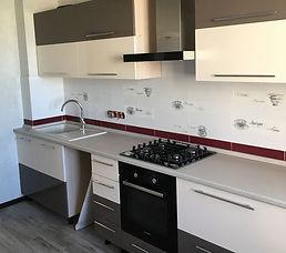 кухня прямая под заказ в Москве по индив