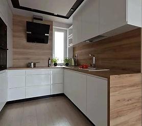 кухня п образная на заказ в Москве