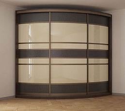 шкаф радиусный в Москве на заказ