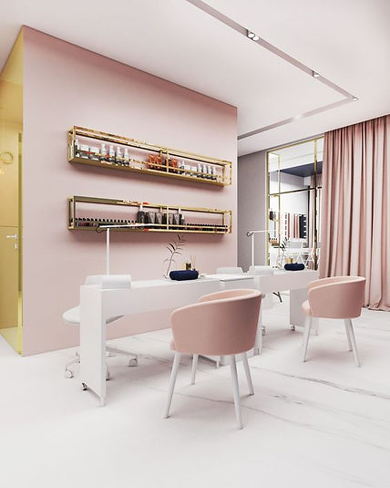 Мебель для салона красоты на заказ по ин
