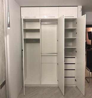 шкаф распашной на заказ