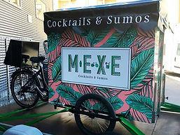 Vélo cargo triporteur pour cocktails