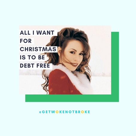 All I want for Christmas is to be debt free