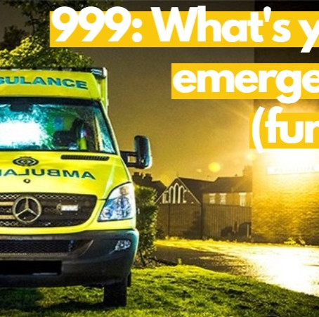 #coronacrisis Part 3: 999: What's your emergency (fund)?