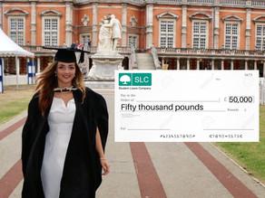 ConGRADulations, you're in £50k worth of debt