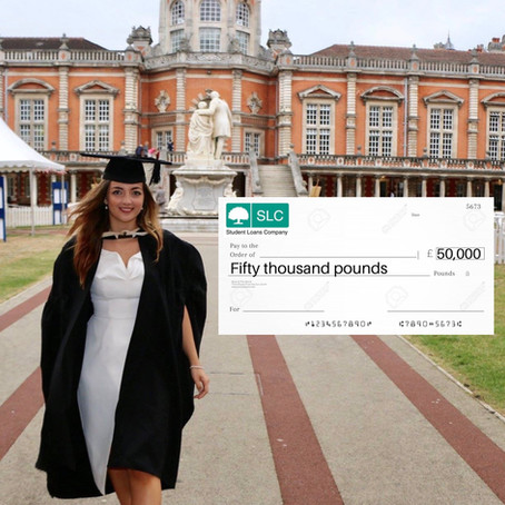 ConGRADulations, you're in £50k worth of debt