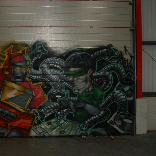 Garage Door Graffiti
