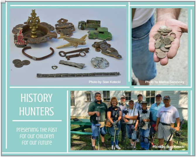 History Hunters Uncover Buried Treasures