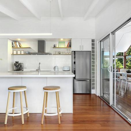 The three most popular kitchen layouts