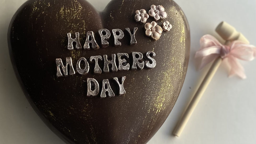 Deluxe Mother's Day Breakable Heart Filled with chocolate treats