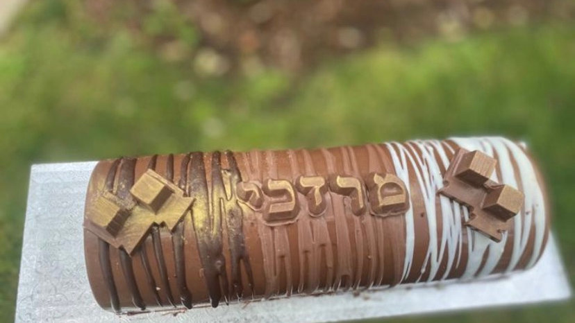 Chocolate log deluxe
