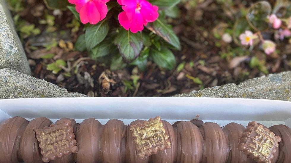"Chocolate log 12"""