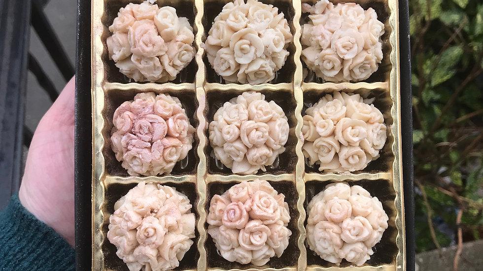 Rose ball truffles