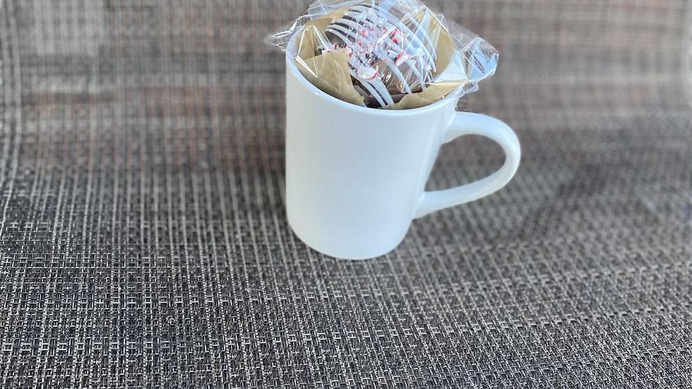Hot cocoa bomb in mug!!! Super gift!