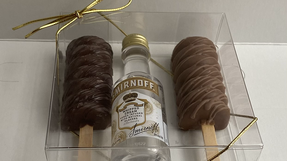 Truffle pops in box