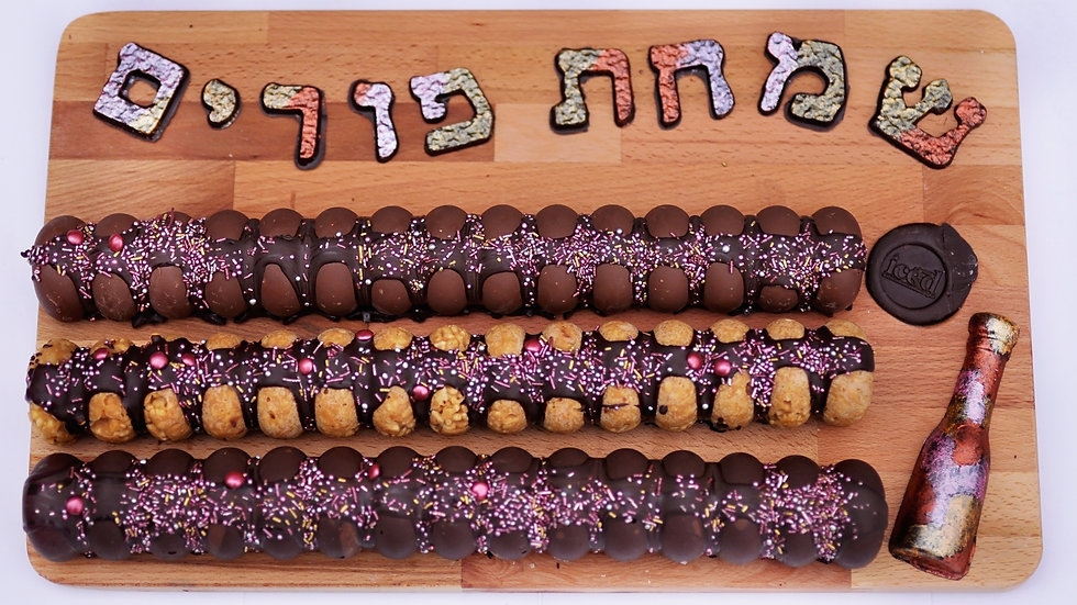 Deluxe Simchas Purim Chocolate Truffle Board