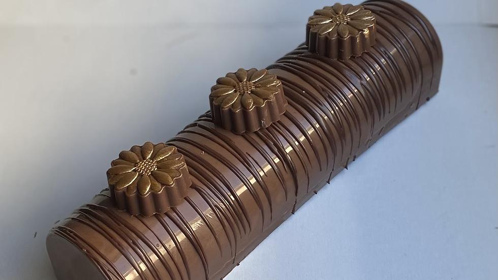 Chocolate log large