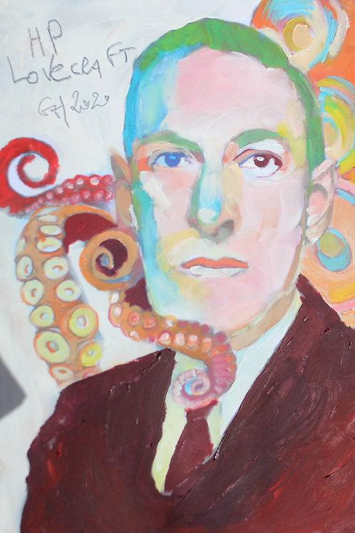 Portrait HP Lovecraft