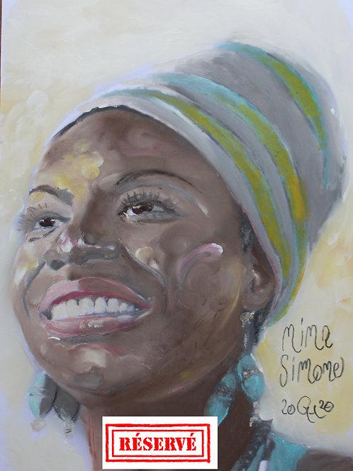 Portrait Nina Simone