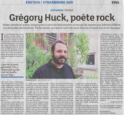 10.DNA - Grégory Huck poète rock