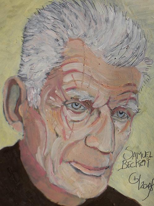 Portrait Samuel Beckett