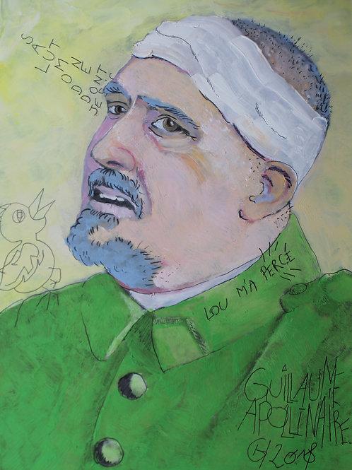 Portrait Guillaume Apollinaire