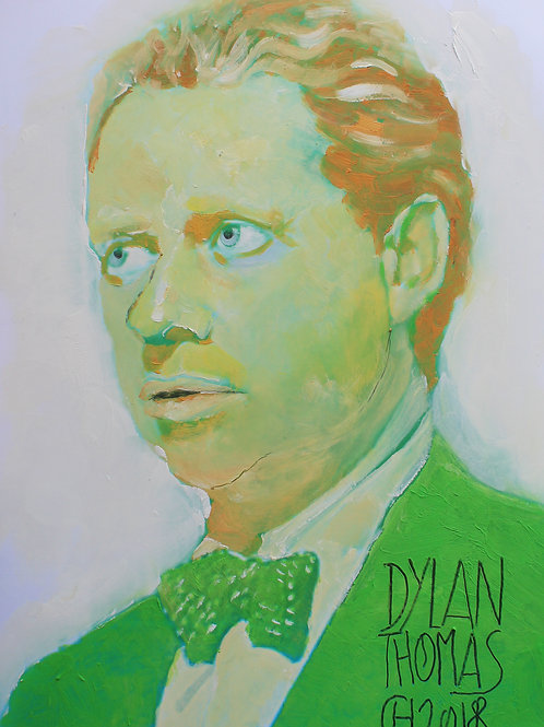 Portrait Dylan Thomas
