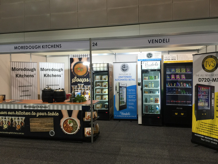 Vendeli - Moredough Kitchens Stand - 201