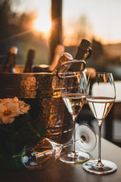 Anima Lounge & Bistro - bubbles and sunsets