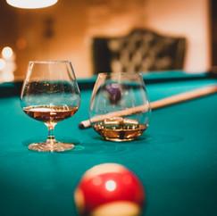 Anima Lounge & Bistro Calamandrana billiard room