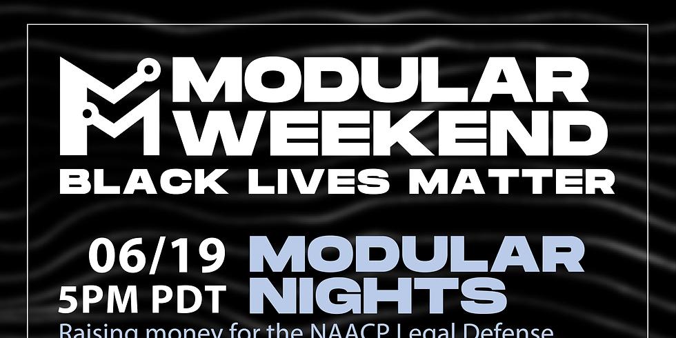 Modular Nights   Black Lives Matter