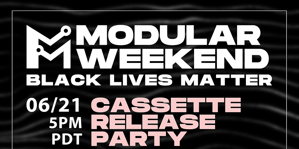 Modular Seattle   Cassette Release Party