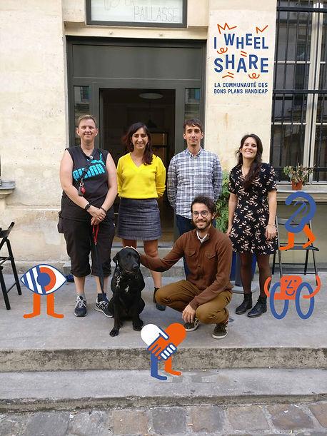 L'équipe d'I Wheel Share